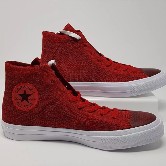 c71e199030b117 Red Chuck Taylor all star Nike flyknit converse